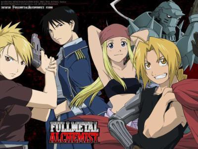 Vos mangas et nous. Fullmetal-alchemist-brotherhood